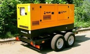 Дизельные генераторы в процессе прокладки инженерных сетей