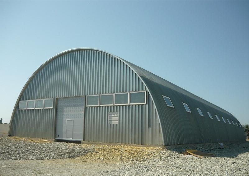 Классификация быстровозводимых ангаров-складов