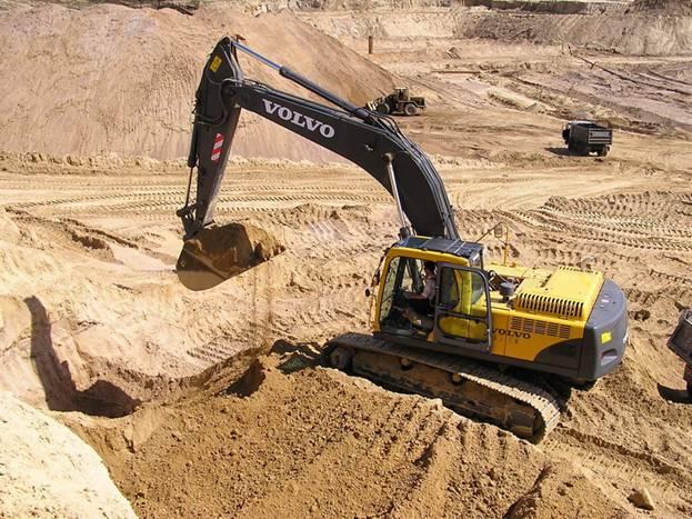 Песок строительный по оптимальной цене от компании Триос