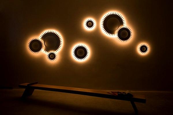 Оригинальные светильники в стиле хай-тек