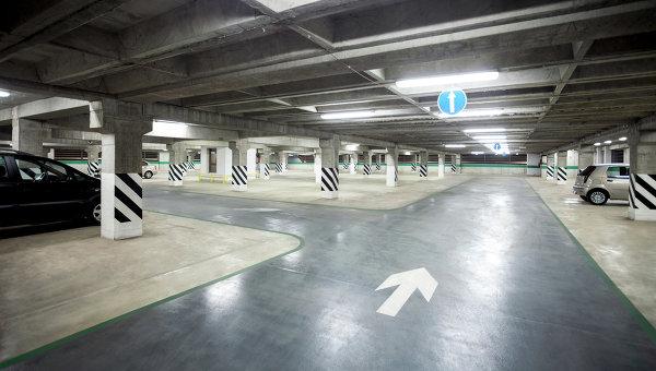 Подземная автостоянка оборудована по последнему слову науки и техники