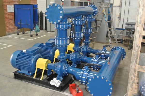 Промышленное оборудование для водоснабжения