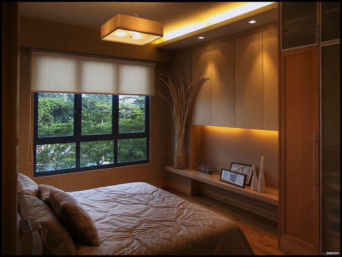 Свет в дизайне спальной комнаты