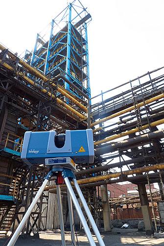 оборудование для трехмерного лазерного сканирования