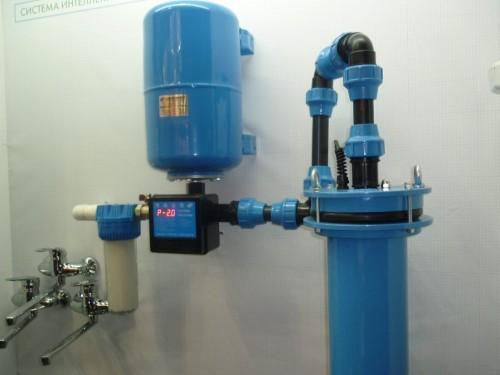 Водоснабжение в частном доме из неглубокой скважины
