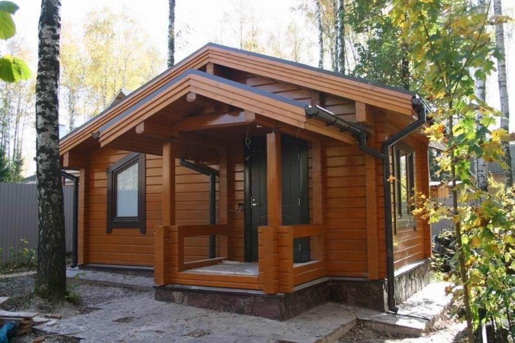 Современные деревянные дома и бани